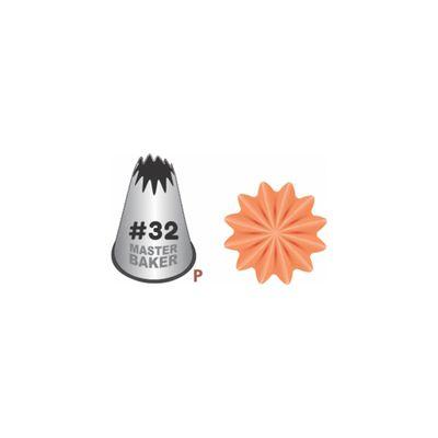 BI-P32---Bico-de-Confeitar-Inox-Master-Baker---Pitanga-Aberta---P---32-3