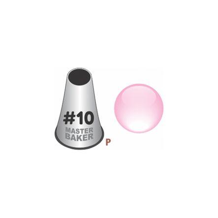 BI-P10---Bico-de-Confeitar-Inox---Master-Baker---Perle_Liso---P---10-3
